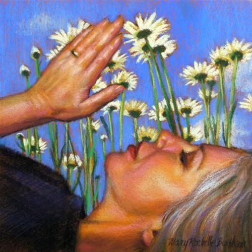 """Letting Go"" original fine art by Mary Rochelle Burnham"