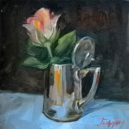 """""""Rose"""" original fine art by Jurij Frey"""