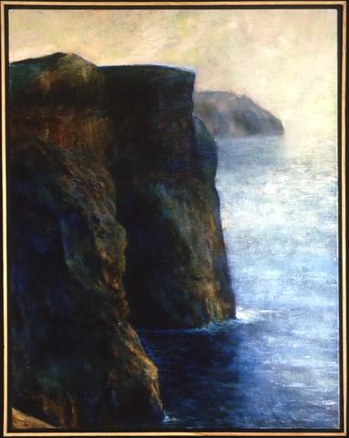 """Moher"" original fine art by Joe Fitzgerald"
