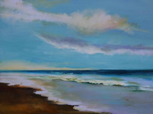 """""""Glorious, Seascape Paintings by Arizona Artist Amy Whitehouse"""" original fine art by Amy Whitehouse"""