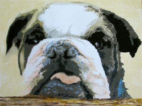 """Love that Face!"" original fine art by Nan Johnson"