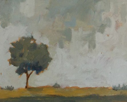 """Quiet Tree"" original fine art by Pamela Munger"
