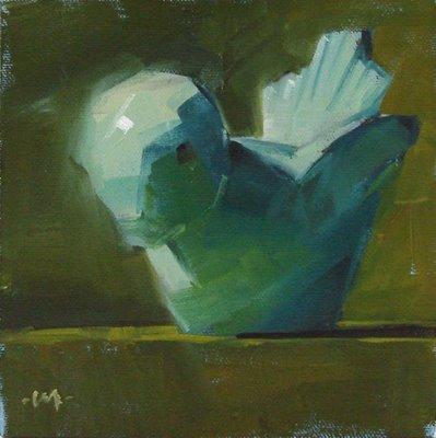"""""""Little Bird 2"""" original fine art by Carol Marine"""