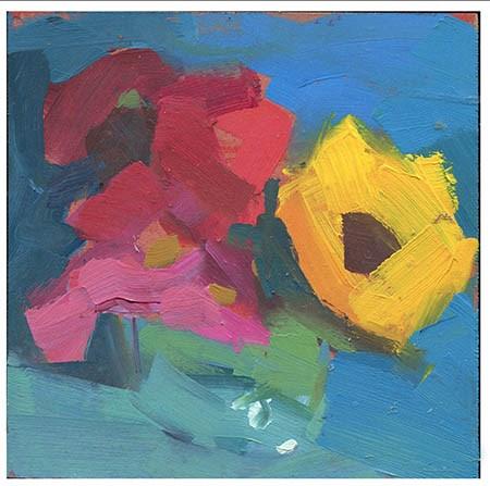"""2811 Concord"" original fine art by Lisa Daria"