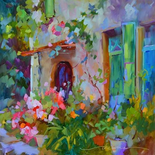 """""""Delicate Beauty in France"""" original fine art by Dreama Tolle Perry"""