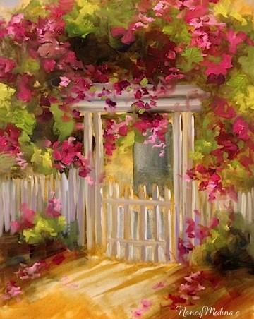 """Coronado Island Sunset and a San Diego Workshop by Nancy Medina"" original fine art by Nancy Medina"