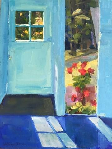 """""""189 Window View"""" original fine art by Libby Gilpatric"""