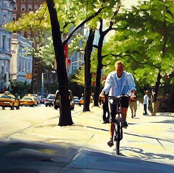 """New York City Workshop 2010"" original fine art by Karin Jurick"