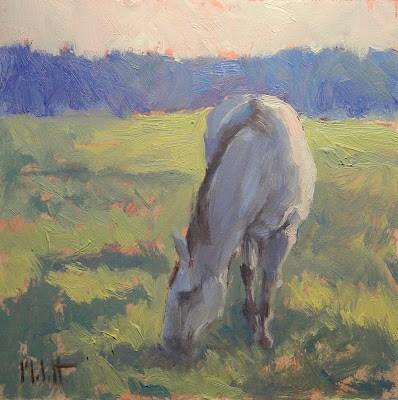 """""""Sweet Greens"""" original fine art by Heidi Malott"""