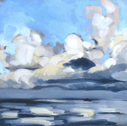 """""""Ocean Clouds"""" original fine art by Jessica Green"""