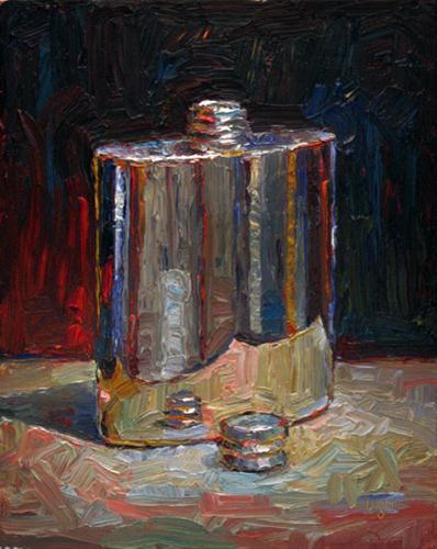 """Flask"" original fine art by Raymond Logan"