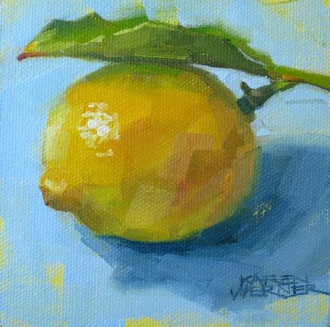 """""""Untitled"""" original fine art by Karen Werner"""