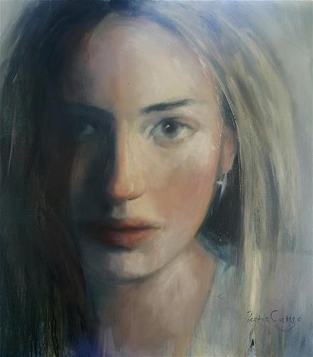 """Gone girl 2"" original fine art by Rentia Coetzee"