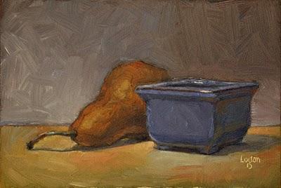 """Bosc Bonsai"" original fine art by Raymond Logan"