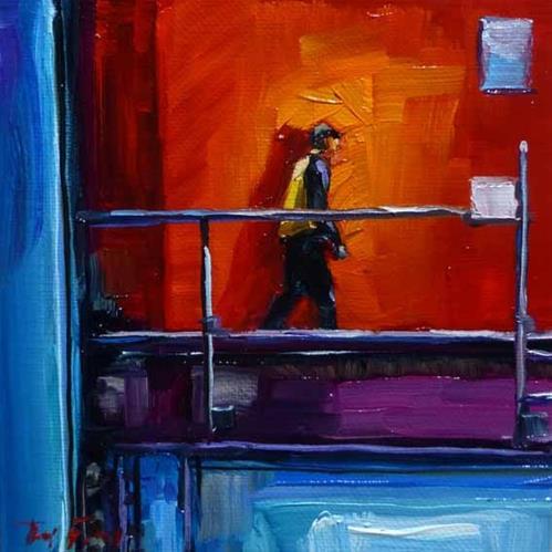 """""""in Hafen"""" original fine art by Jurij Frey"""