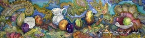 """Cornucopia(Series)"" original fine art by Deirdre McCullough Grunwald"