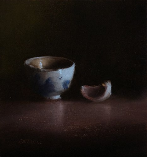 """Finger Bowl and Clove"" original fine art by Neil Carroll"