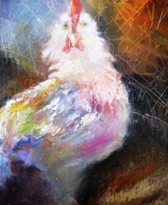 """Scratch"" original fine art by Scarlet Owl Studio"