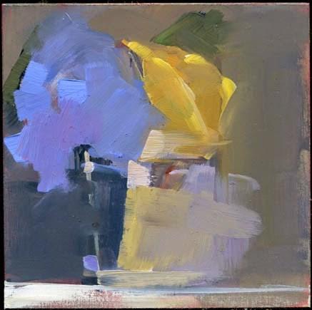 """""""1807 Yellow Rose"""" original fine art by Lisa Daria"""