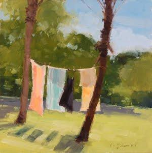 """That Summer Feeling"" original fine art by Laurel Daniel"