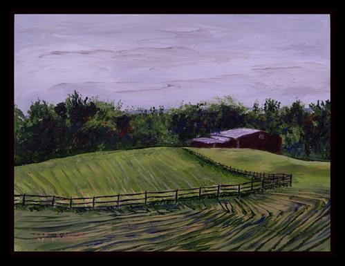 """""""Johnson Farm, Cuyahoga Valley National Park"""" original fine art by Captain B Smith"""