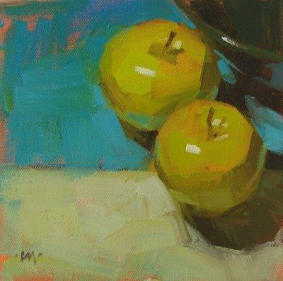 """Crossing the Line"" original fine art by Carol Marine"