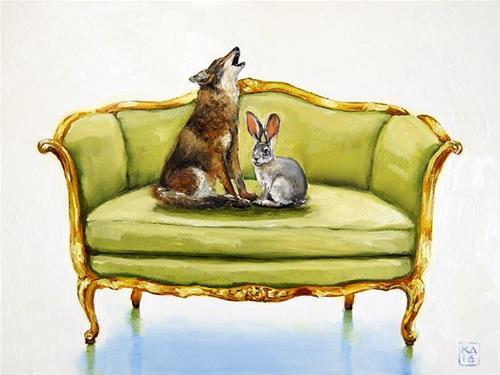 """love song"" original fine art by Kimberly Applegate"