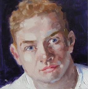 """""""FACE-IT.  17"""" original fine art by Helen Cooper"""