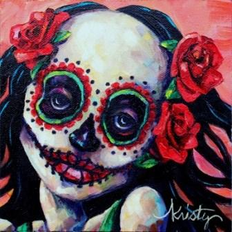 """FLOR"" original fine art by Kristy Tracy"