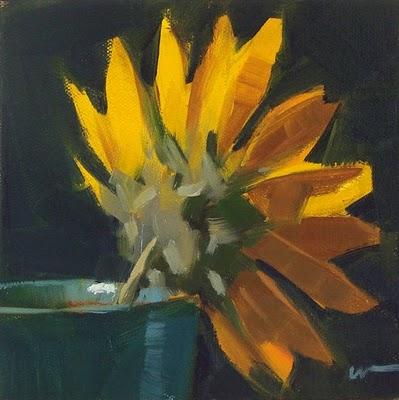 """Texas Wildflower --- SOLD"" original fine art by Carol Marine"