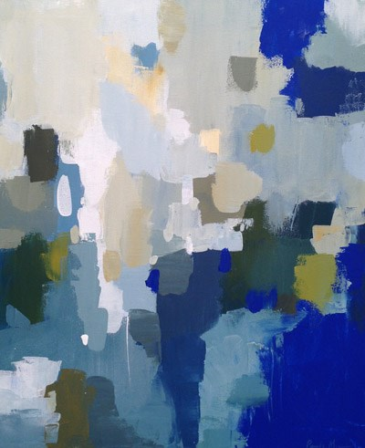 """Epic Blue II"" original fine art by Pamela Munger"