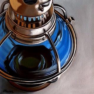 """""""Summer Lantern"""" original fine art by Jelaine Faunce"""