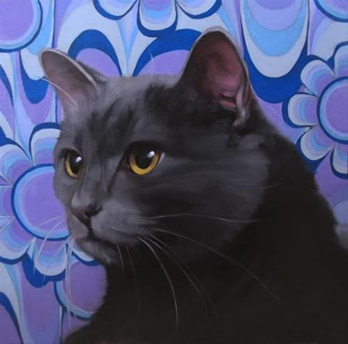 """""""A Milestone:  I'm in the Cat Art Show 