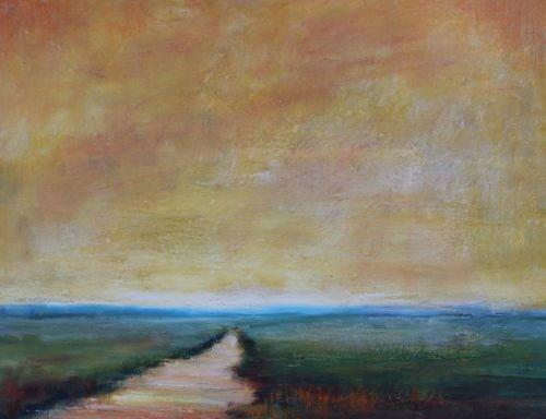 """Serenity, Landscape Paintings by Arizona Artist Amy Whitehouse"" original fine art by Amy Whitehouse"