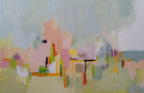 """spring is like a perhaps hand"" original fine art by Pamela Munger"