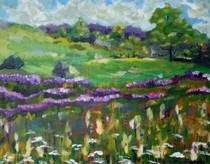 """""""What Spring is to Me"""" original fine art by Maggie Flatley"""