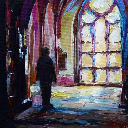 """""""Licht"""" original fine art by Jurij Frey"""