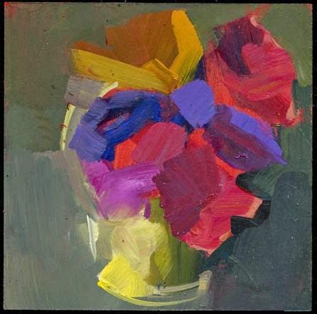 """1993 Carrots"" original fine art by Lisa Daria"