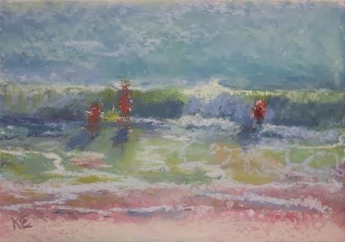 """Santa Ana Summer Day"" original fine art by Katharine Engh"