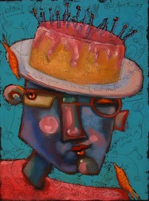 """""""Cake Walk"""" original fine art by Brenda York"""