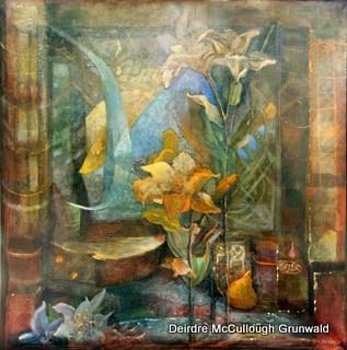 """Hidden Treasure"" original fine art by Deirdre McCullough Grunwald"