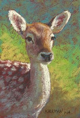 """2 New Animal Portraits"" original fine art by Rita Kirkman"