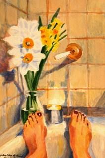 """Simple Pleasures"" original fine art by JoAnne Perez Robinson"