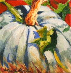 """Autumn Blues"" original fine art by JoAnne Perez Robinson"