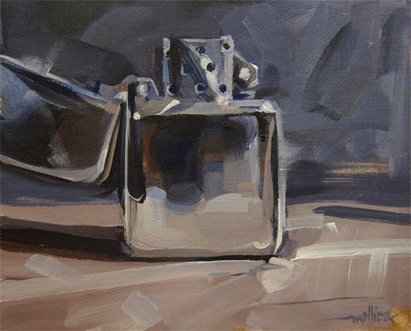 """Lighter Darker"" original fine art by Patti Mollica"
