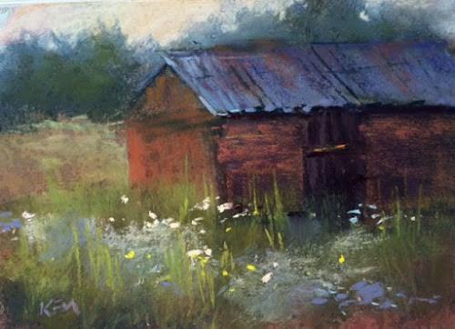 """Exploring Sweden ...The Flowers are Calling"" original fine art by Karen Margulis"