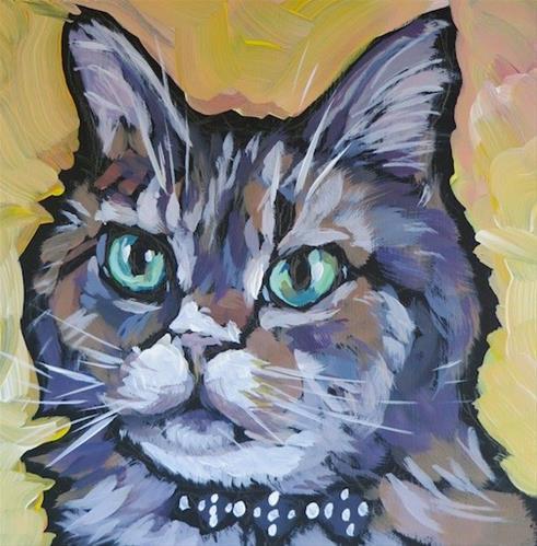 """""""Sophie Redo"""" original fine art by Kat Corrigan"""