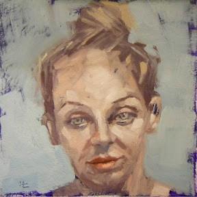 """""""FACE-IT.  #11"""" original fine art by Helen Cooper"""