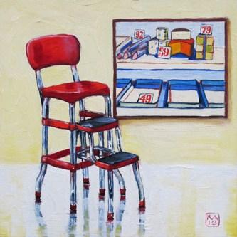 """provisions"" original fine art by Kimberly Applegate"