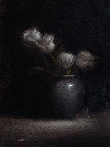 """Four Roses"" original fine art by Neil Carroll"